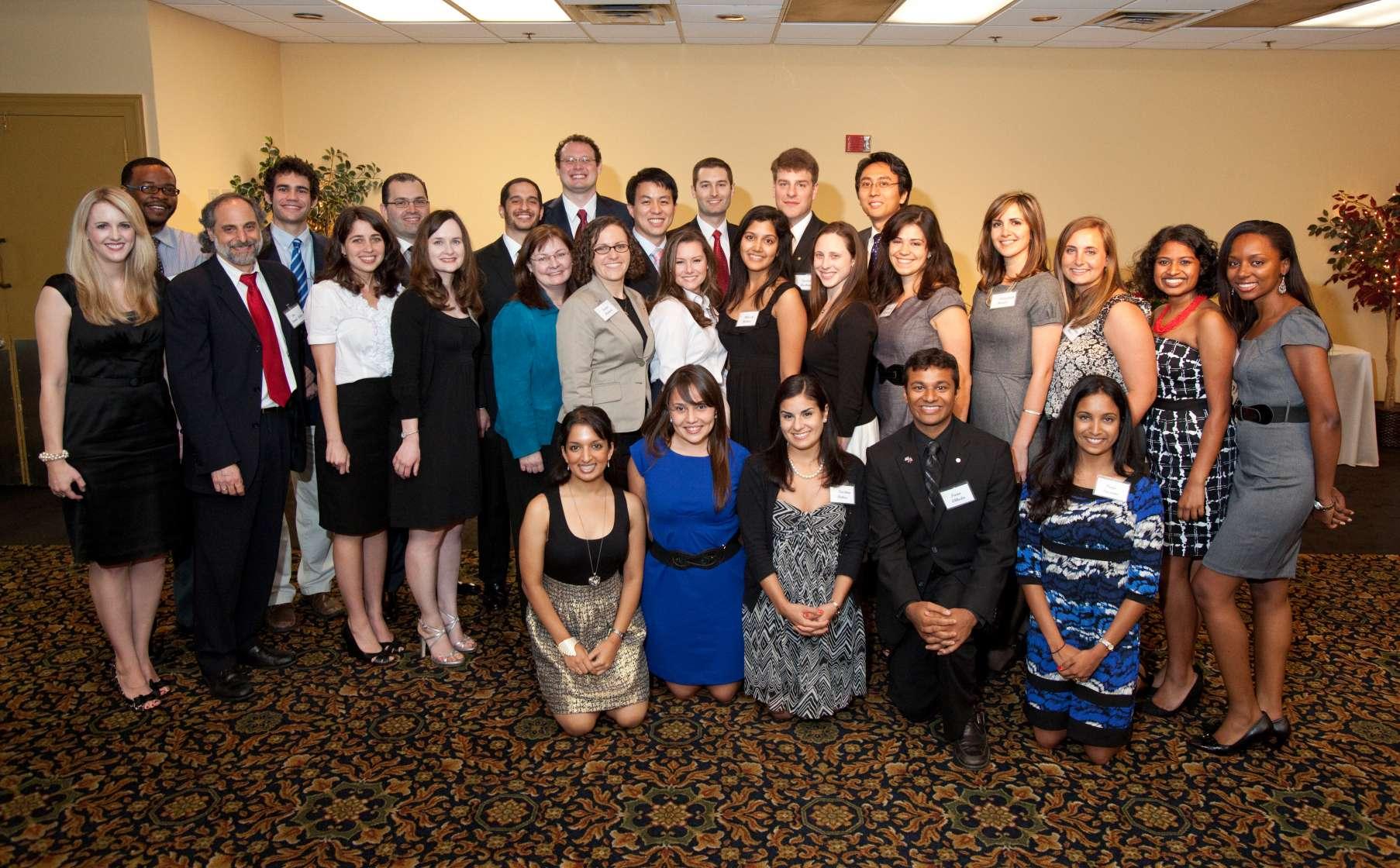 2011 Banquet attendees